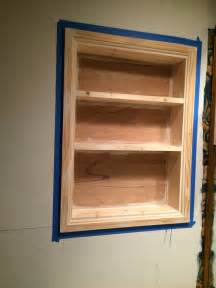 built in wood shelf mixed kreations