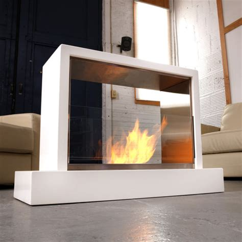 insight indoor fireplace white real touch of