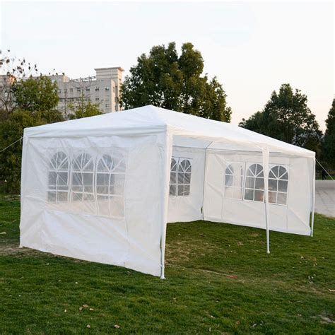 Canopy Outdoor Tent Outdoor 10 X20 Canopy Wedding Tent Gazebo Pavilion