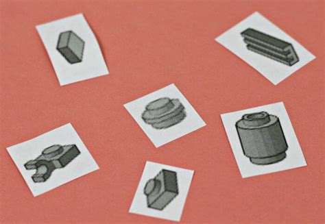 printable individual shapes recycling dental floss containers printable lego storage