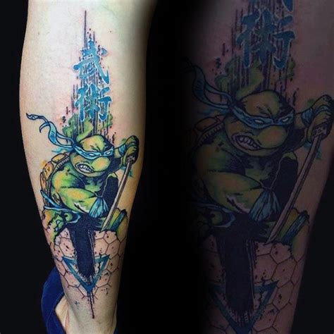 teenage mutant ninja turtles tattoos 70 mutant turtle designs for