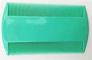durable sided nit combs for lice dectection