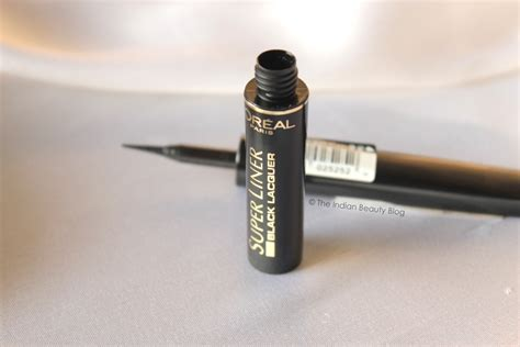 Harga L Oreal Liner Black Lacquer l oreal liner black lacquer review swatch