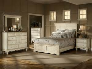 wilshire panel bedroom set antique white finish decor