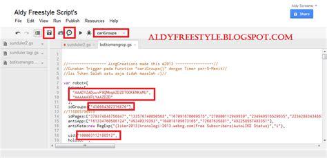 membuat robot facebook cara membuat bot komen group facebook terbaru aldy