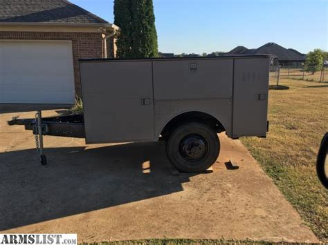utility bed trailer armslist for sale trade enclosed service bed trailer