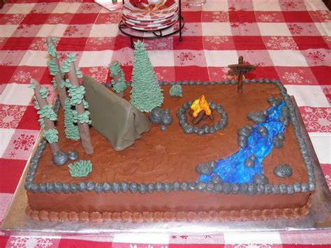 12 best images about cakes boy scouts on cake