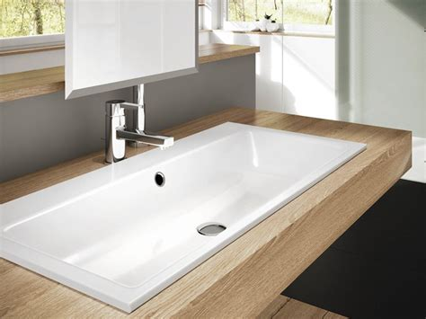 Lavabo da incasso per il bagno: materiali e forme delle