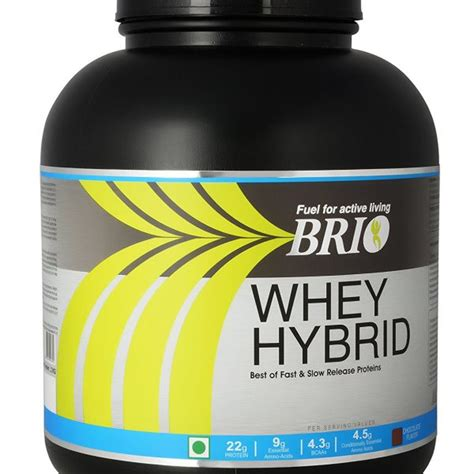 Whey Hybrid Compare Buy Brio Whey Hybrid 2kg Chocolate In