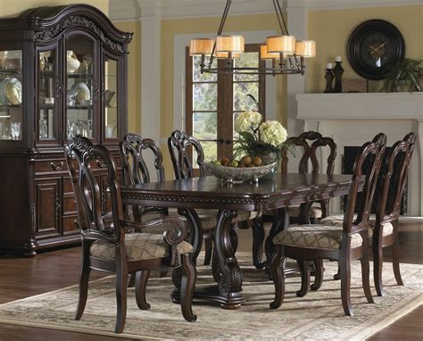 Extendable Dining Room Sets by San Marino Extendable Dining Room Set From Samuel
