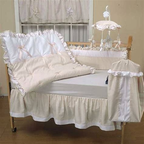baby doll 4 pcs set pique crib bedding