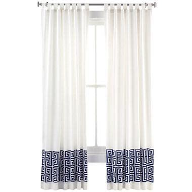Happy Chic By Jonathan Adler Elizabeth Faux Linen Curtain