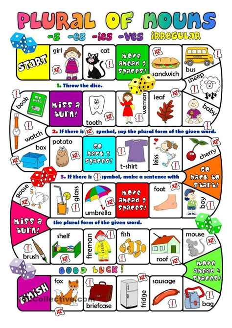 printable educational board games free printable games for learning english learn english