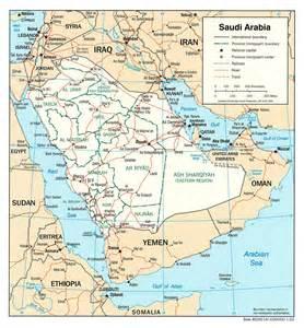 maps of saudi arabia detailed map of saudi arabia in