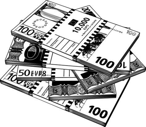 clipart bianco e nero clipart vettoriali di banconote in in bianco e nero