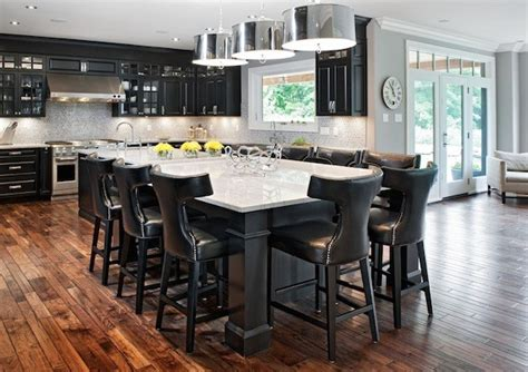 photos of kitchen islands with seating improving your kitchen functionality with an island