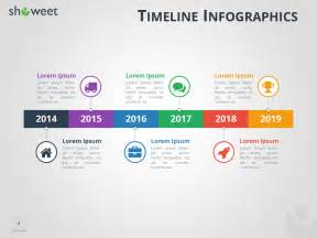 Infographie Frises Chronologiques Pour Powerpoint
