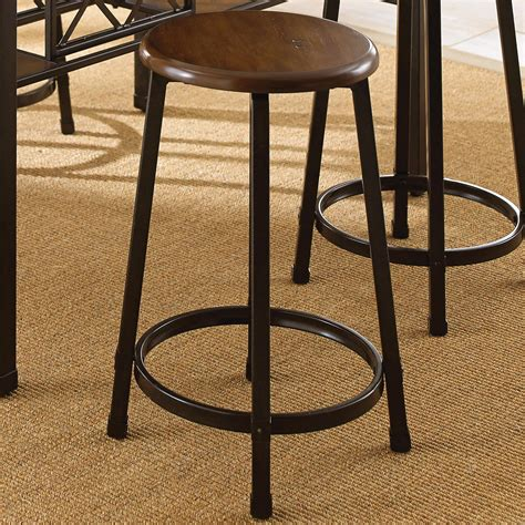 Counter Stools With Metal Legs by Steve Silver Counter Stool With Metal Legs