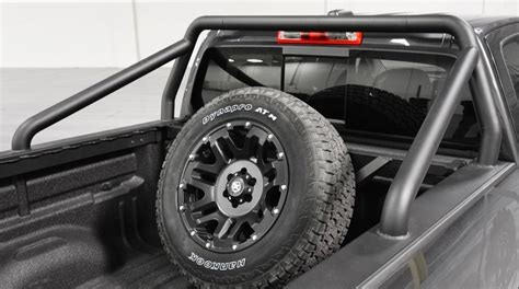 truck bed spare tire carrier spare tire carrier motor city aftermarket