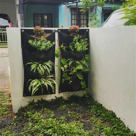 jual pot dinding vertical garden pot bunga tanaman hias