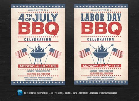 bbq flyer template 15 bbq flyer template psd eps and ai format
