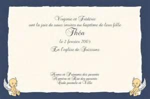 Exemple De Lettre D Invitation Pour Bapteme Faire Part De Bapteme Gratuit 224 Imprimer A Imprimer