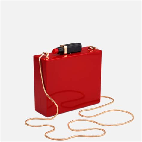 Lulu Guinness Perspex Clutch by Lulu Guinness S Perspex Clutch Bag With