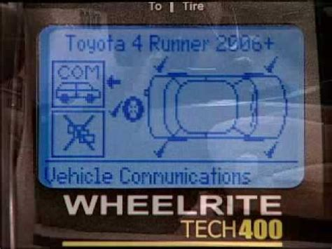 tire pressure monitoring 2001 toyota camry head up display toyota 4runner tpms tire pressure monitoring system youtube