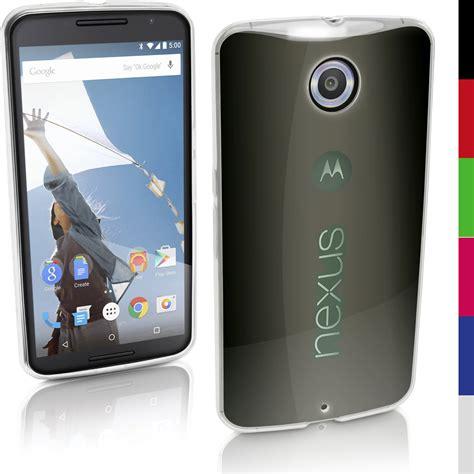 Motorola Nexus 6 Soft Transparant Casing Cover Sarung Bumper glossy tpu gel for motorola nexus 6 xt1100 skin cover screen prot ebay