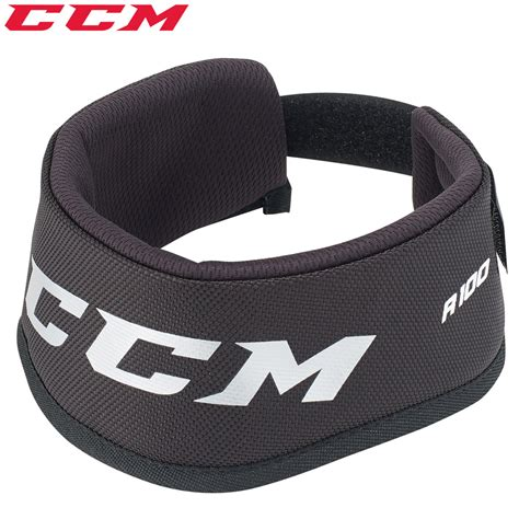 100 100 on neck ccm rbz 100 neck guard jr