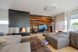 beautiful wooden wall panels as an accent wall