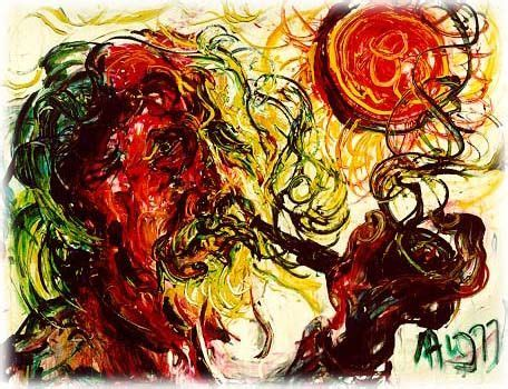 affandi is painter 1907 1990 with