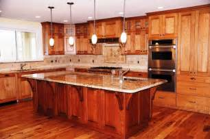 Kitchen Island With Cabinets Custom Kitchen Cabinets And Kitchen Island Made From Cherry Wood Custom Designed Built And