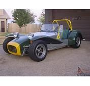 British Lotus Super Seven 7 Series III Twin Cam Replica