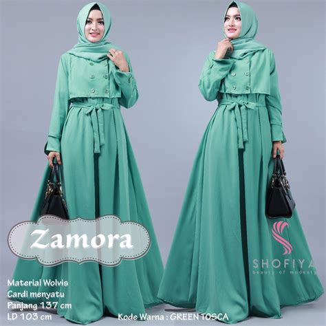Baju Only You 1 distributor untuk grosir dan reseller baju muslim murah ecer nabiilah store