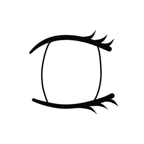 anime girl s eye lineart by zeldabloom101 on deviantart