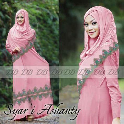 Supplier Baju Merlyn Syari Amelia 1 syari ashanty gamis cantik dengan pashmina instan hana yg