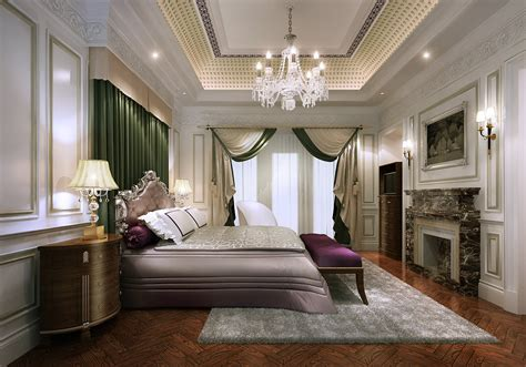 how to make a 3d bedroom model elegant classic style bedroom 3d model max cgtrader com
