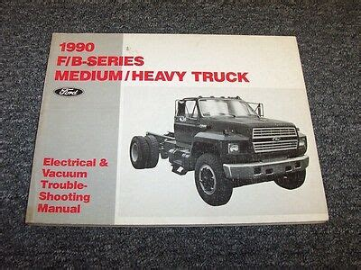 ford      electrical wiring vacuum diagram manual ebay