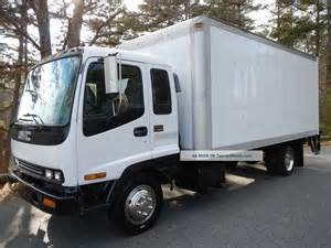 Isuzu Box Truck Wheels 2000 Gmc Isuzu Wt5500 Box Truck W Liftgate
