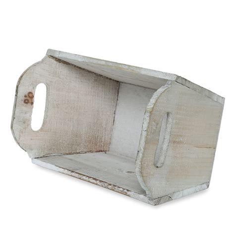 washed wood box l farmhouse white wood centerpiece