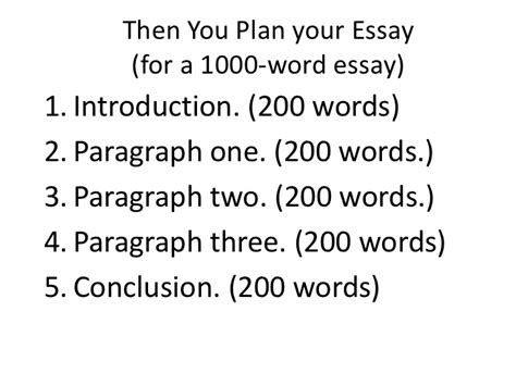1000 Word Essay by 5 Essay Writing Tips To 1000 Word Essay