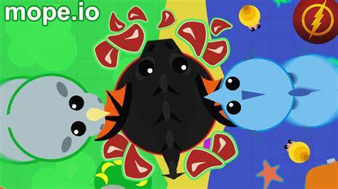 mope io mope io swordfish rhino instant kill glitch mope