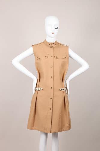 Sleeveless Utility Shirt Atasan Wanita Branded Original Belstaff Nwt 1595 Khaki Sleeveless Utility Zip