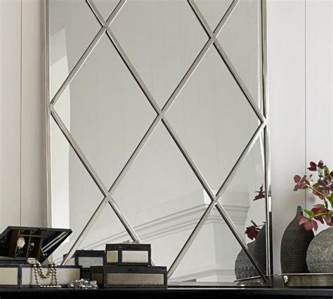 Diamond Pattern Wall Mirror | diamond mirror wall mirrors wall decor home decor