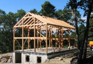 Pole Barns Maine Great Rooms Trusses Amp Decorative Ceiling Beams By Vermont