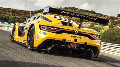 renault rs 01 flat out in renault s rs 01 racer top gear