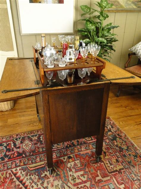 Pop Up Bar Cabinet Antique Pop Up Bar Mid Century Martini Wine Drinks Cabinet Ebay