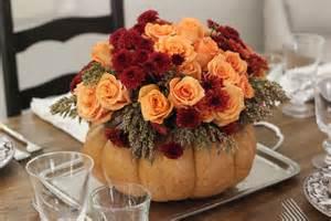 thanksgiving centerpiece jenny steffens hobick thanksgiving table setting diy flower pumpkin centerpiece woodland
