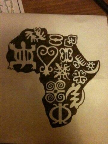 african symbols tattoos could be a potential do crafts